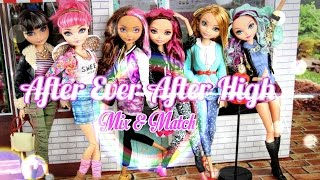 Custom Doll: After Ever After High Mix & Match