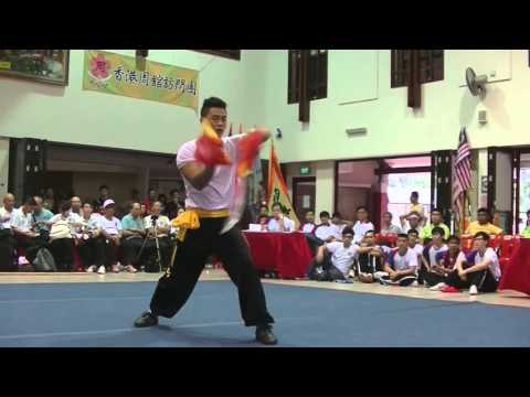 Human Mobile Stage 99, 2015 Zhou Jia Quan Int'l Conference@Singapore, Lion Dance Kung Fu