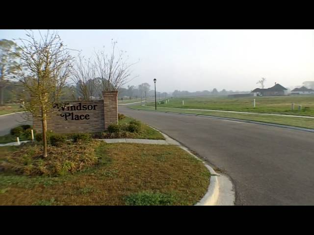 Baton Rouge Real Estate Buzz: Zachary Louisiana's New Windsor Place Subdivision Update