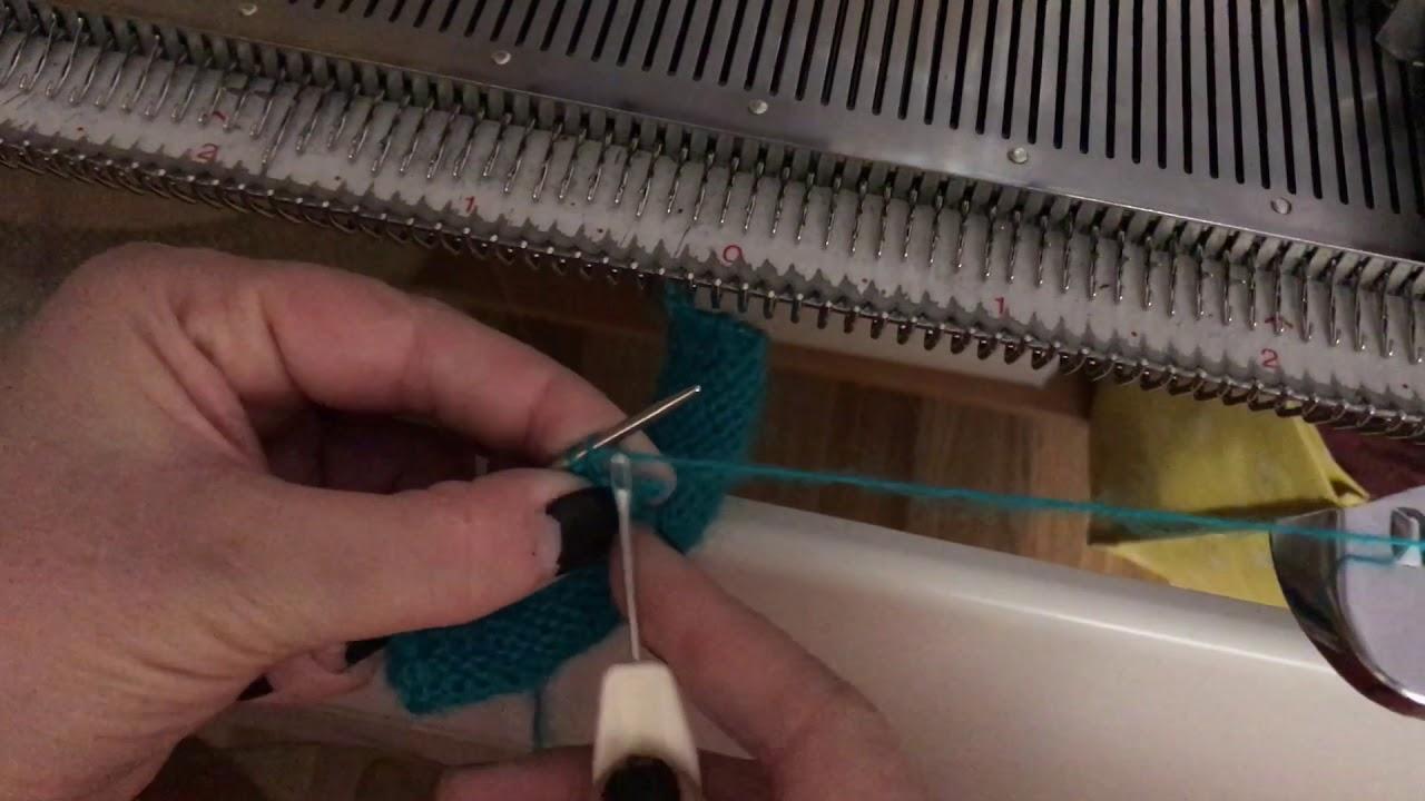 Как снимать вязание с петель 225