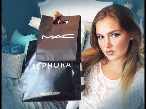 Sephora/Mac Haul! + FIRST Impressions (Dior, Laura Mercier .. etc.)