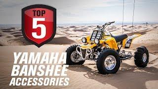 Top 5 Yamaha Banshee Performance Accessories