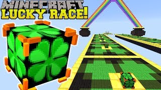 Minecraft: INSANE IRISH LUCKY BLOCK RACE - Lucky Block Mod - Modded Mini-Game