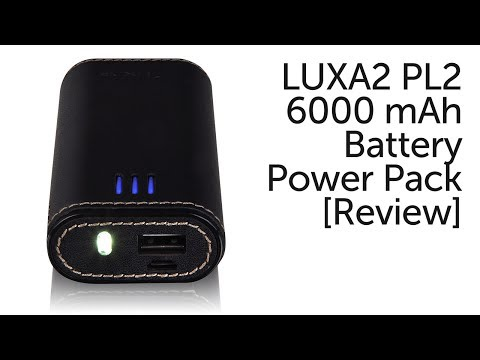 LUXA2 PL2 6000 mAh Battery Power Pack [Review]