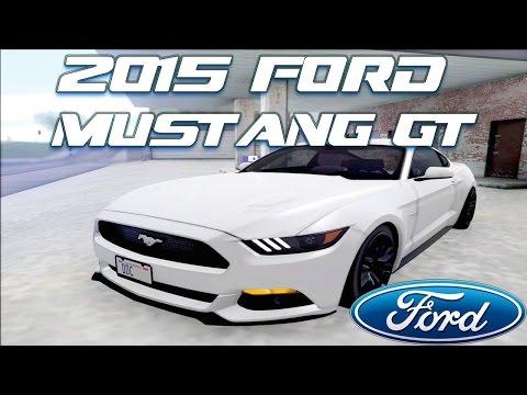 GTA San Andreas Mods - 2015 Ford Mustang GT [DOWNLOAD]