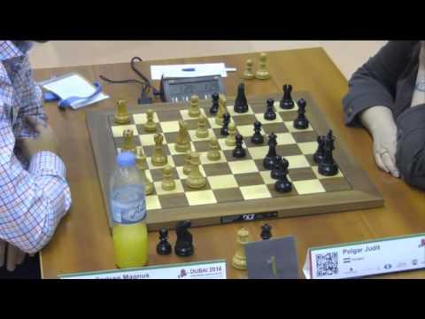 Carlsen vs Polgar - 2014 World Blitz Championship