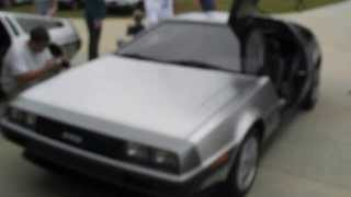 Delorean VIN 5000 with custom exhaust.