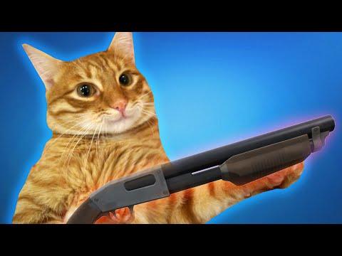 Мой кот СНОВА пытается меня убить! :O