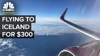 What It's Like To Fly Discount Carrier WOW To Iceland
