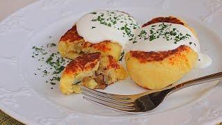 Зразы картофельные с грибами рецепт | Просто вкусно