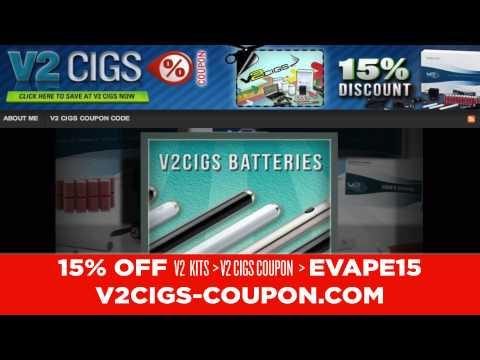 V2 Cigs Coupon Code 15% Off 2013 ZIGZAG E-Cig Giveaway