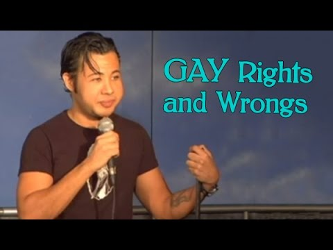 Stand Up Comedy By Thai Rivera - Gay Rights And Wrongs video