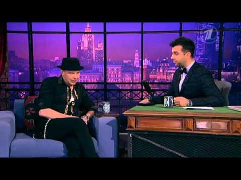 Гарик Сукачев в гостях у Ивана Урганта на шоу Первого канала Вечерний Ургант
