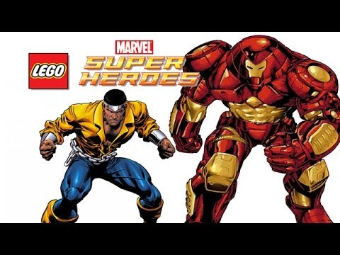 LEGO: Marvel Super Heroes - Hulkbuster and Power Man (FREE ROAM)