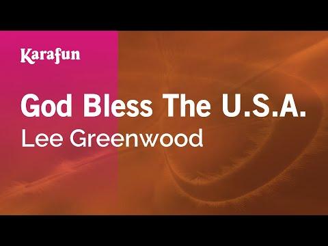Karaoke God Bless The U.S.A. - Lee Greenwood *