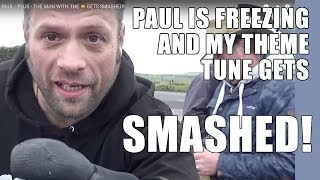 METAL DETECTING WITH PAUL - PLUS - THE MAN WITH THE 🤠 GETS SMASHED!