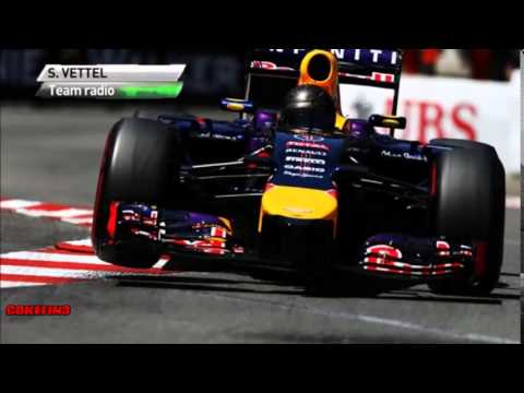 [Team Radio] Vettel's Engine problem - Monaco 2014
