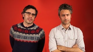 Falling in love with Jemaine Clement and Taiki Waititi