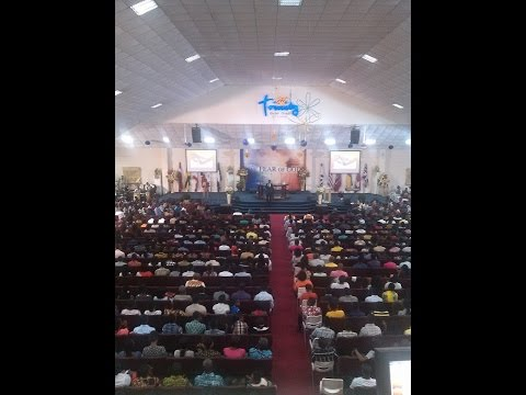Sunday 1sr Service Trinity Baptish Church Accra -Ghana (22nd May, 2016).