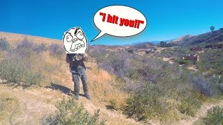 AIRSOFT CHEATER CALLS ME THE CHEATER!!