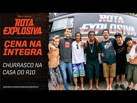 Deco e Lucas na Rota Explosiva - Churrasco na Casa do Ronaldinho Gaúcho