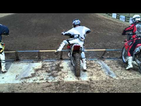 How Not to Holeshot a Two Stroke Motocross Bike