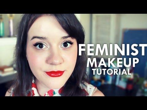 Feminist makeup tutorial parody youtube