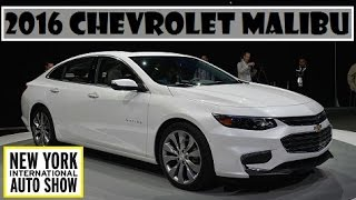 2016 Chevrolet Malibu, live at 2015 New York Auto Show