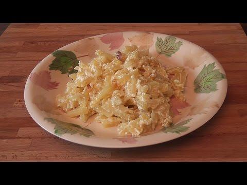 Как приготовить картошку в сметане - видео