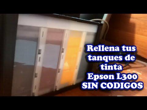Reinicio de Niveles de tintas sublimacion epson L300 SIN CODIGOS