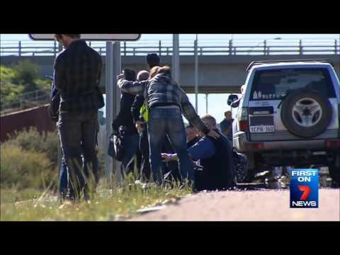 Freeway Tragedy   Seven News Perth   14/07/2015