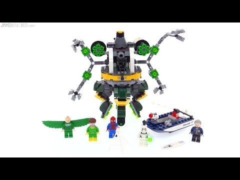 LEGO Spider-Man: Doc Ock's Tentacle Trap review! 76059