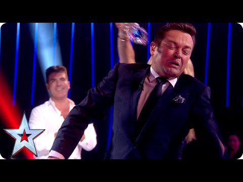 BGMT: Amanda gives Stephen a soaking | Semi-Final 1 | Britain's Got Talent 2015