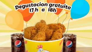 Inauguración chickens fly Tomelloso