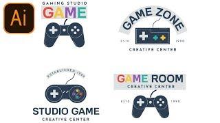 FREE Gaming Logo Pack #3 | Clan/Esport/Mascot | Adobe Illustrator Free Logo Templates