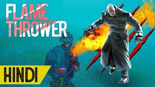 HUNTING TYRANT WITH FLAME THROWER!!! | PUBG MOBILE