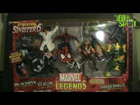 Toy Spot - Toy Biz Marvel Legends Sinister Six Box Review