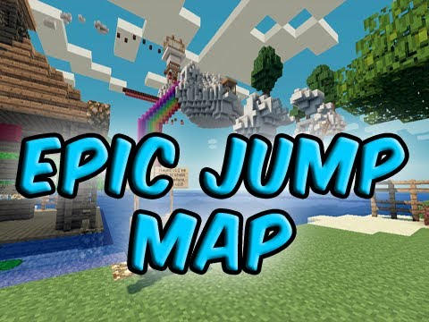Minecraft Custom Map - EPIC JUMP MAP V2.0: The Return Part 3