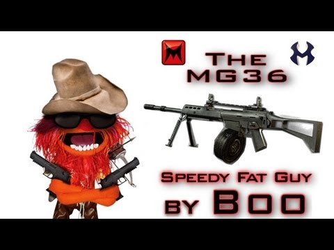 MG36 Gameplay | Speedy Fat Guy - Modern Warfare 3