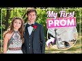 My 1st PROM... with a Broken Foot? | #PROM 2018 Get Ready With Me