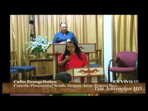 Culto Evangelistikco, Concilio Pentecostal Senda Antigua , AMIP Tampa Bay. 09-27-2015