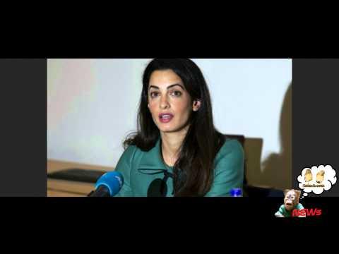 Amal Alamuddin rifiuta incarico ONU, non indagherà su crimini a Gaza