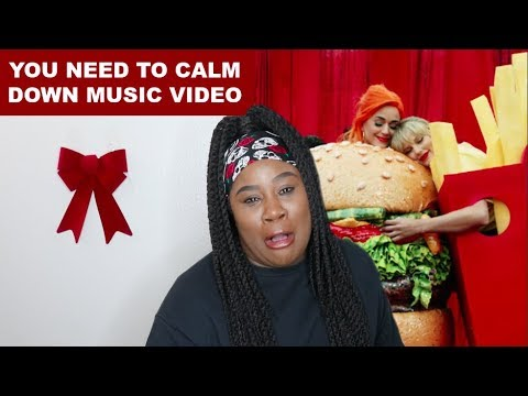 Taylor Swift - You Need To Calm Down Music Video |REACTION|