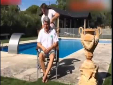 Enrique Cerezo'dan ICE BUCKET