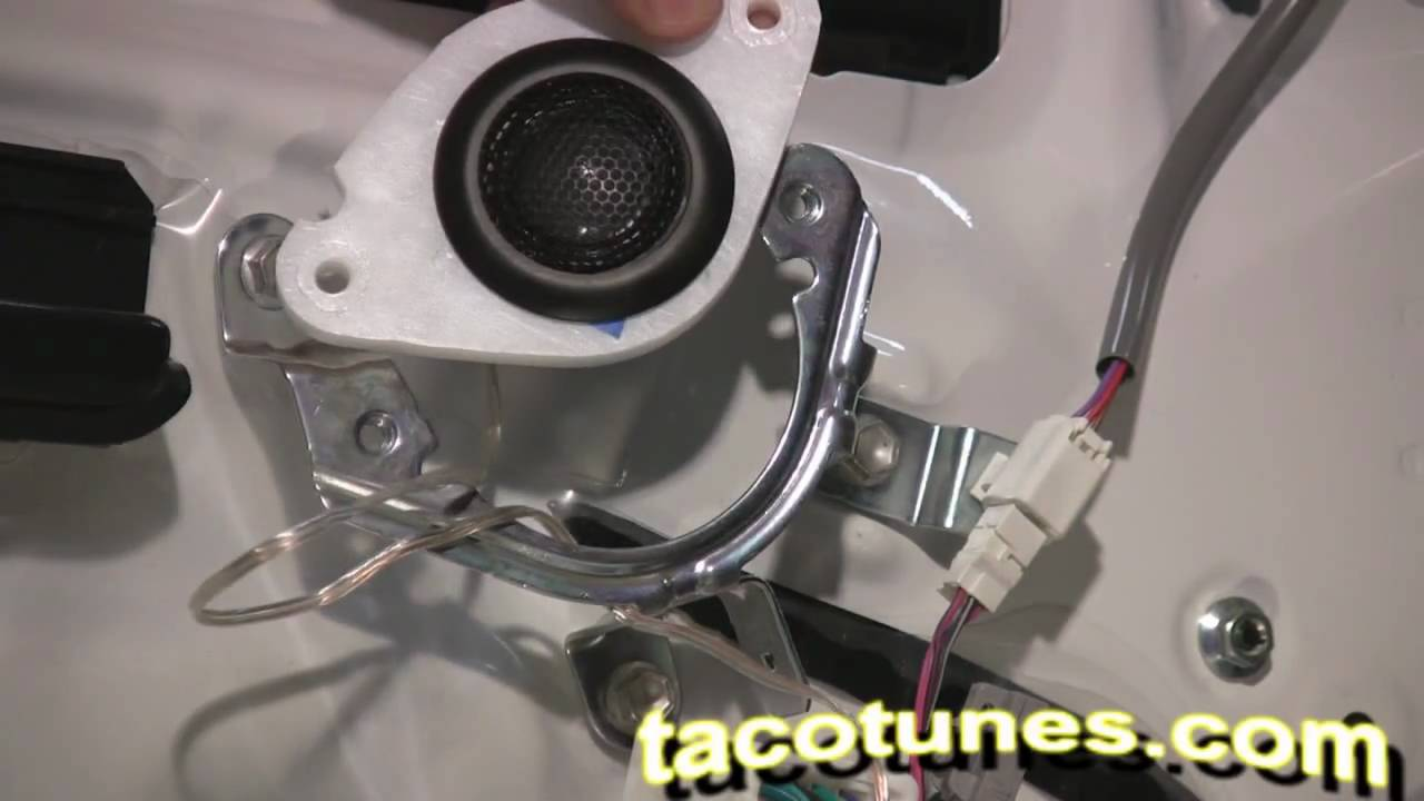 Toyota Tacoma How To Install Tweeter And Speakers 2005