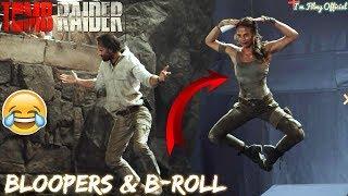 Tomb Raider Bloopers, B-Roll & Behind the Scenes | Alicia Vikander 2018