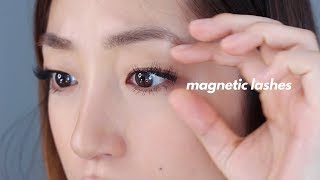 MAGNETIC LASHES FIRST IMPRESSION REVIEW | dahyeshka
