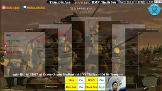 AoE 22 Random Thầu, Đức Anh vs Hoàng Mai Nhi, Thanh Sơn ngày 12-11-2017