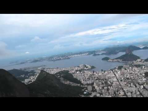 rio de janeiro and christ the redeemer corcovado helicopter flyover.mov
