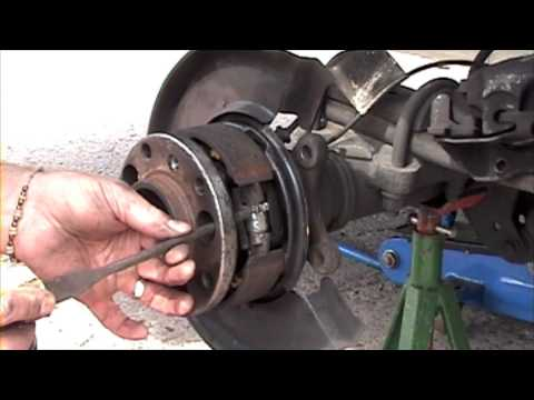 Fitting Sprinter Rear Brake Shoes Youtube